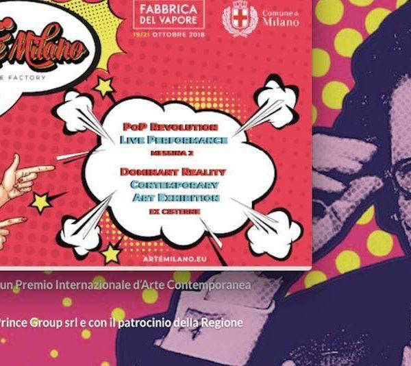Brochure Arte Milano Fabbrica del Vapore