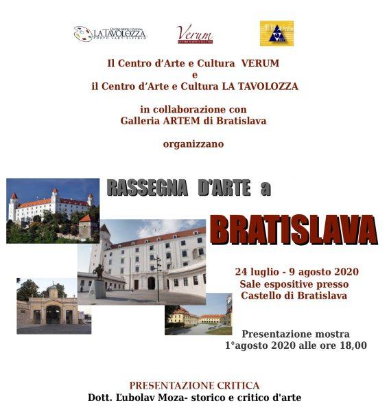Rassegna d'Arte Contemporanea a Bratislava - Riccardo Zancano